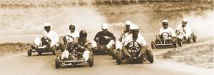 Historisches Go Cart racing photo
