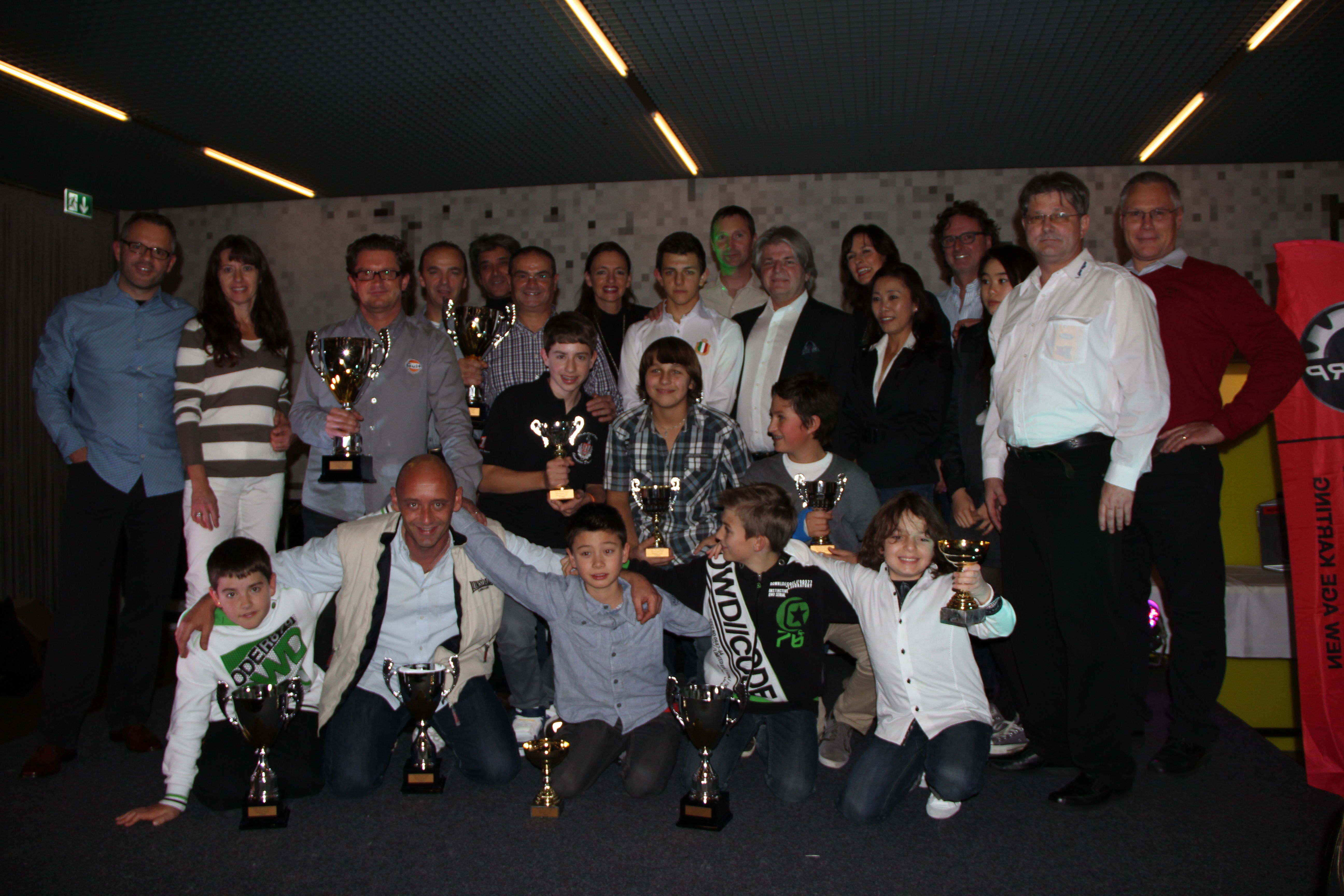 Meisterschaftsfeier 2012