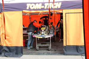 Tom-Tech-Rotax Max 2013 FirstRace