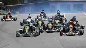 Kart-Rennen Oppenrod